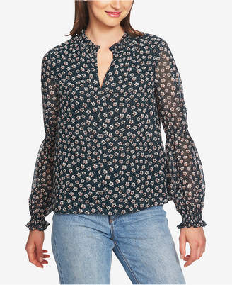 1 STATE 1.state Floral-Print Top