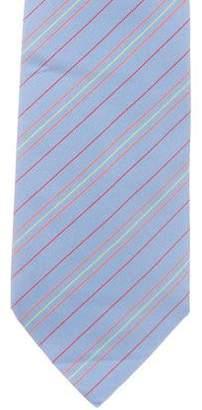 Hermes Striped Silk Tie