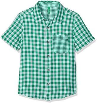 Benetton Boy's Shirt Shirt,(Manufacturer Size: 2Y)