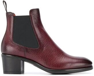 Santoni heeled boots
