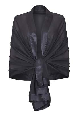 Ghost Zara Shawl Charcoal