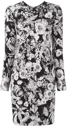 Roberto Cavalli floral print shift dress