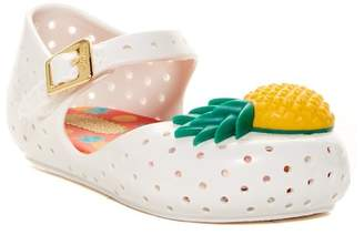Mini Melissa Furadinha Mary Jane Flat (Toddler) $58 thestylecure.com