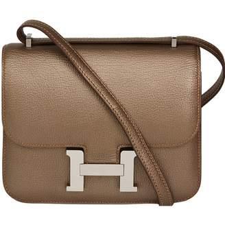 Hermes Constance leather handbag