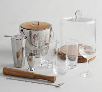 Pottery Barn Crafthouse Ice Bucket with Tongs