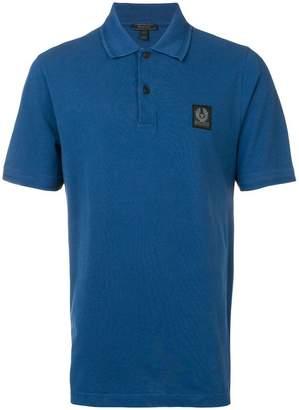 Belstaff logo patch polo shirt