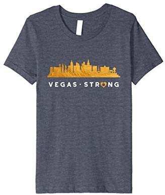 Vegas Strong Skyline Architecture Souvenir Gift T-Shirt