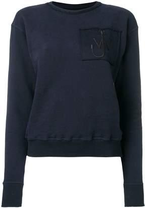J.W.Anderson Logo Pocket Sweatshirt/felpa Tasca Logo