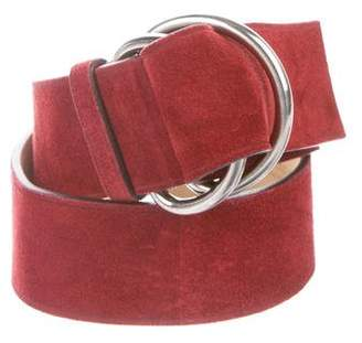 Prada Suede Waist Belt