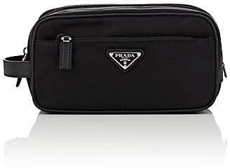 Prada Men's Leather-Trimmed Dopp Kit