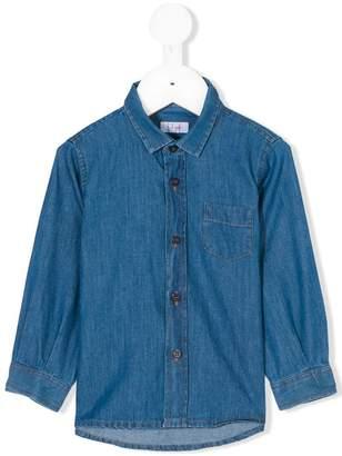 Il Gufo chest pocket denim shirt