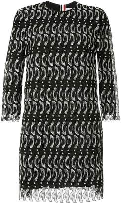 Thom Browne penguin lace dress