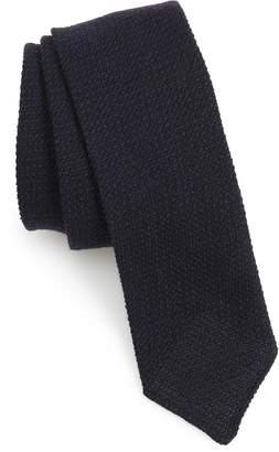 BOSS Solid Wool & Silk Tie