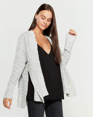RD Style Winter White Open Cardigan