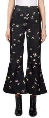 Acne Studios Silk Floral Pants