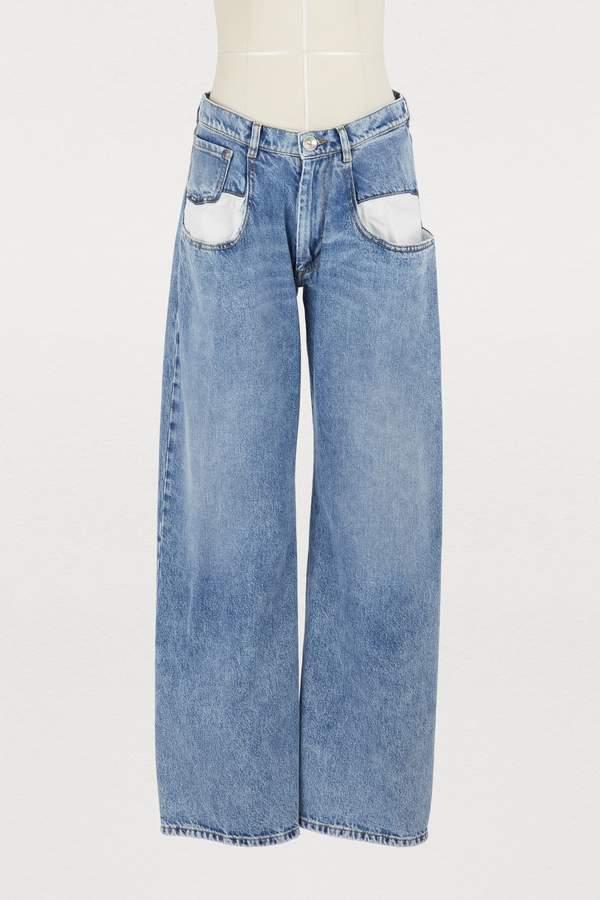Maison Margiela Oversize pockets jeans