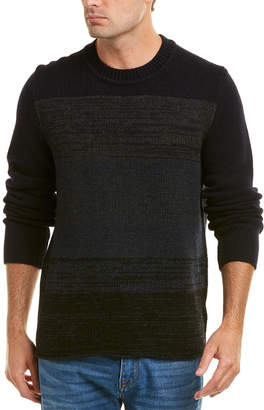 Vince Marled Wool & Yak-Blend Crew Sweater