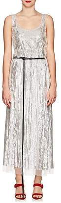 Marc Jacobs WOMEN'S SEQUINED BELTED MIDI