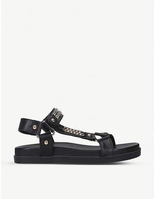 Carvela Kostello chain-embellished leather sandals
