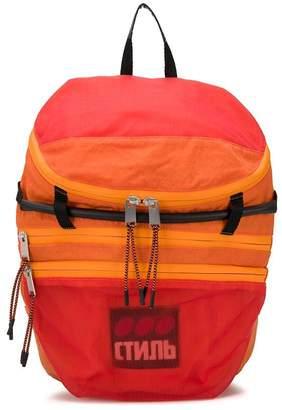 Heron Preston multi-zip backpack