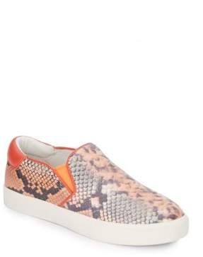 Ash Impulse Stamped Leather Slip-On Sneakers