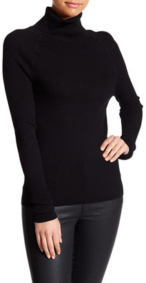 SKULL CASHMERE Fayth Ribbed Skull Turtleneck $253 thestylecure.com