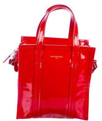 Balenciaga 2017 Patent Leather Bazaar XS Tote w/ Tags