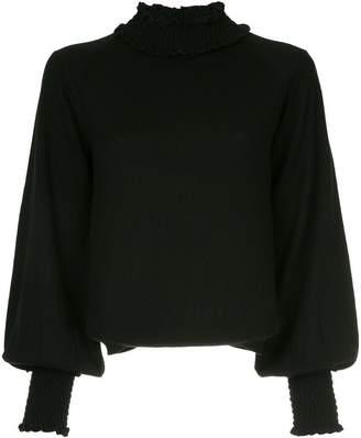 Nina Ricci ruffle trim sweater