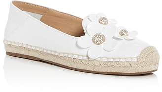 Marc Jacobs Women's Patent Leather Daisy Embellished Espadrille Flats