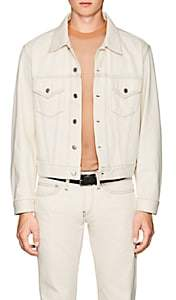 Helmut Lang Men's Denim Trucker Jacket-White