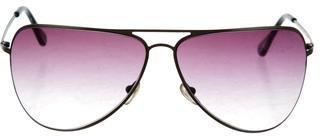 Thakoon Gradient Aviator Sunglasses