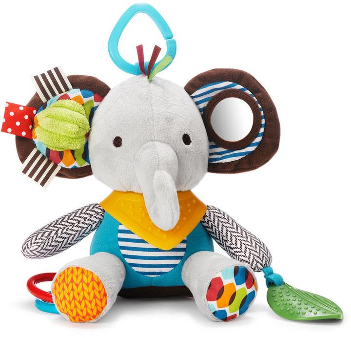 Skip hop bandana buddies activity toy elephant