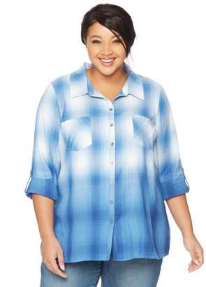 Wendy Bellissimo Motherhood Maternity Plus Size Back Interest Maternity Top