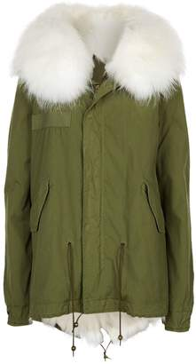 Mr & Mrs Italy Fur Lined Hooded Parka