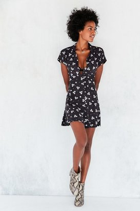 Kimchi Blue Lucy Printed Shirt Dress $69 thestylecure.com