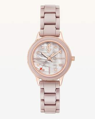 Juicy Couture JC Pink Ceramic Watch