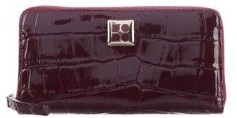 Kate SpadeKate Spade New York Embossed Leather Zip Wallet