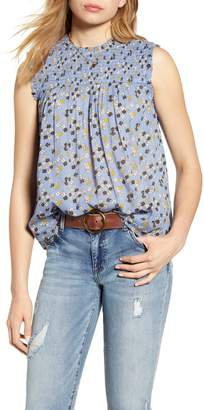 Caslon Printed Sleeveless Top