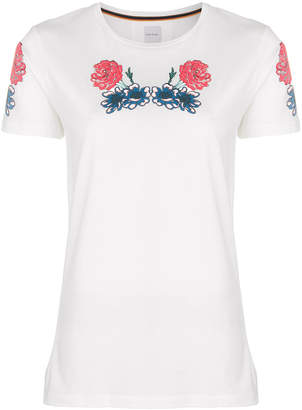 Paul Smith embroidered T-shirt