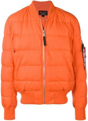 Alpha Industries zipped padded jacket