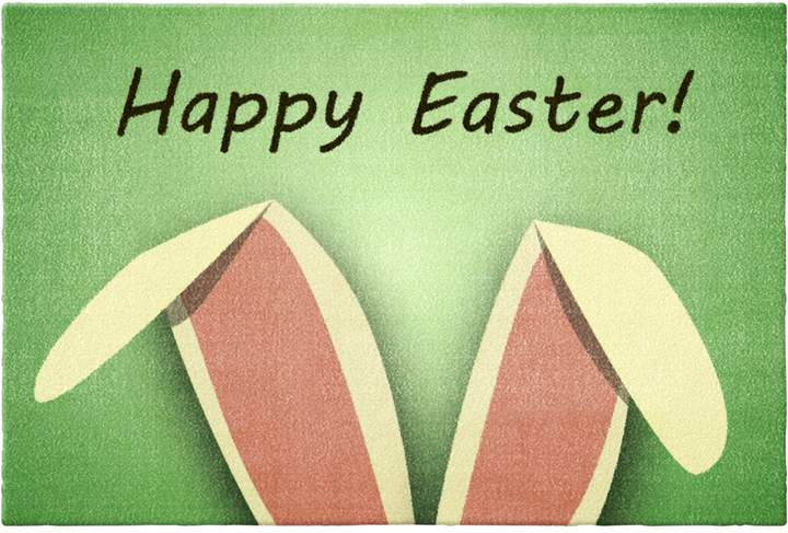 bpc living Fußmatte Happy Easter