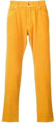 President'S Icarus corduroy cropped trousers