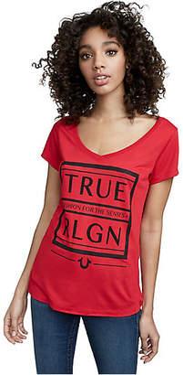 True Religion TRUR RELIGION BOX ROUND V TEE