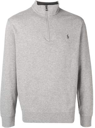 Polo Ralph Lauren turtleneck half zip sweater