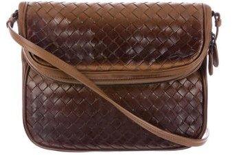Bottega VenetaBottega Veneta Ombré Intrecciato Crossbody Bag