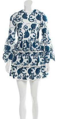 Alexis Tiered Eyelet Dress w/ Tags