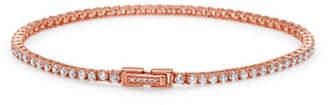 Crislu Classic Core Small Brilliant 18K Rosegold Tennis Bracelet