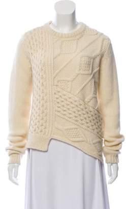 Belstaff Wool & Mohair-Blend Sweater Cream Wool & Mohair-Blend Sweater