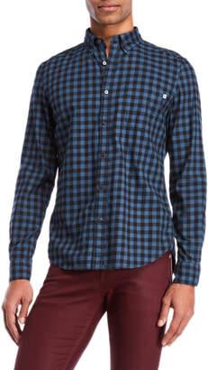 Timberland Gingham Button-Down Shirt