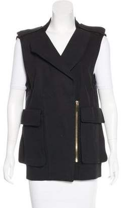 Thomas Wylde Asymmetrical Collared Vest